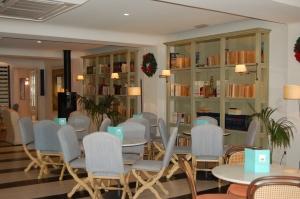 Interior of Cappuccino Grand Café in Pto Pollensa