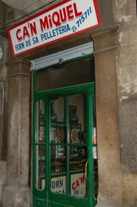 In Palma's old town, this bakery has been run by the Pujol family since 1914. The oven has been in use since the 16th century. Photo J Edwards