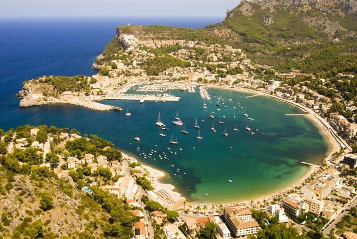 Port de Soller. Photo courtesy of FOMENTO DEL TURISMO DE MALLORCA and taken by Eduard Miralles