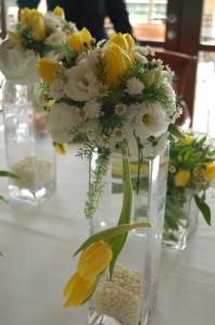 Spring flowers decorate Es Fum