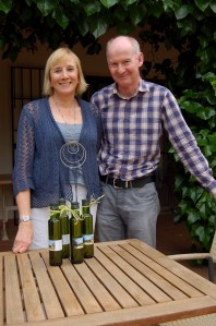 Annie (not Bennett!) and Martin - the amiable hosts of Finca Son Jorbo, Porreres