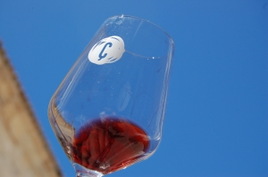 Fine wine and fine weather - what more could we ask?