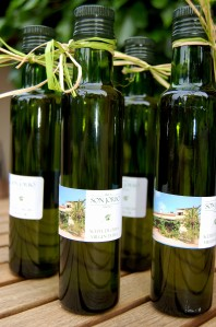 Olive oil from Finca Son Jorbo - a labour of love