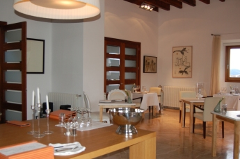 Dining room at Petit Hotel Son Arnau