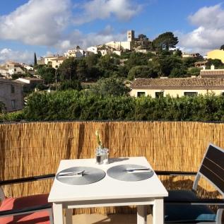 View of Selva from Petit Hotel Son Arnau