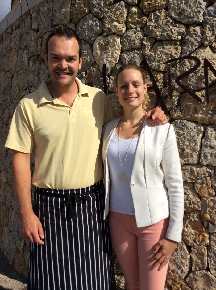 Alex and Susan Terry offer a warm welcome to Petit Hotel Son Arnau's guests.