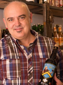Shop owner and beer enthusiast Lorenzo Fiol