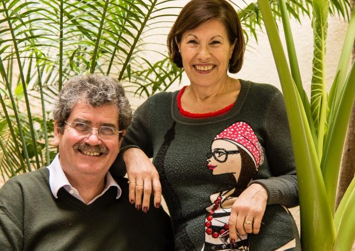 Adrian and Susy Bertorelli.