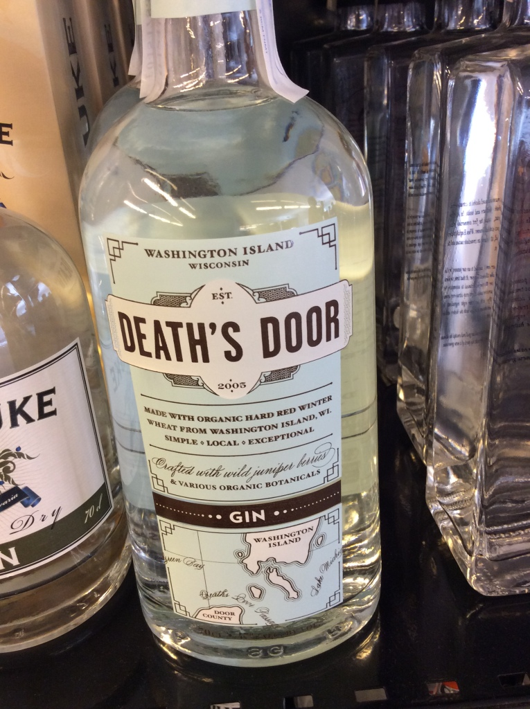 Great name for a gin . . .