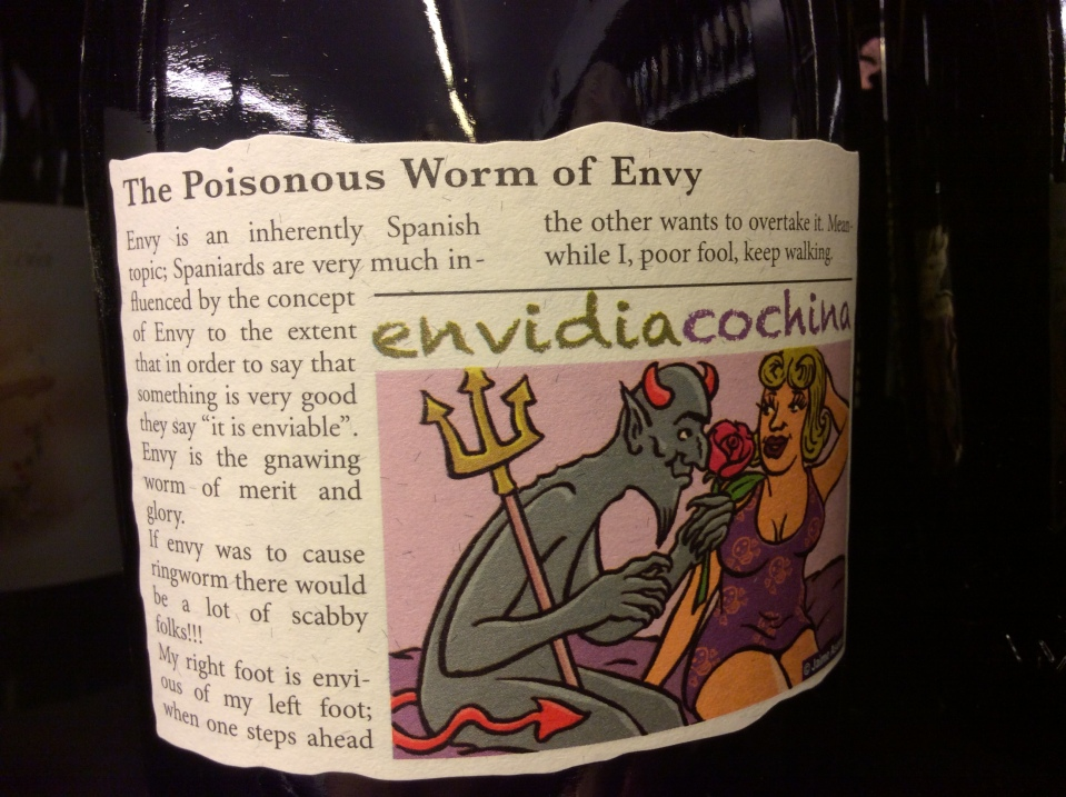 Who could resist this label?