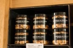 Golden almonds from Mallorca