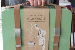 Mon Oncle BBQ-in-a-case, sold at Finca Catering, Manacor.