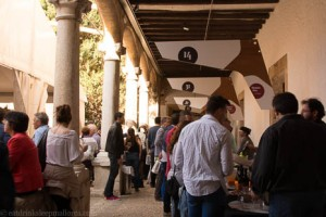 Wine fair in Pollensa.