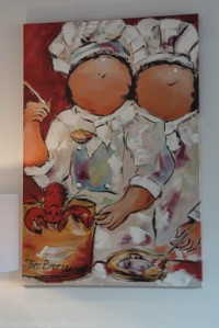 Contemporary art in Petit Hotel Son Arnau, Selva.