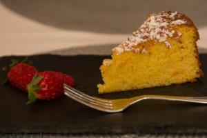 Susan's delicious orange cake.