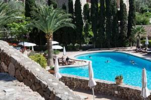 One of the pools at Belmond La Residencia, Deia