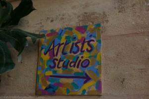 Studio sign at Belmond La Residencia