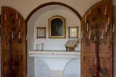 Chapel in Mallorcan house