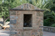 Old well feature at Finca Hotel Can Estades