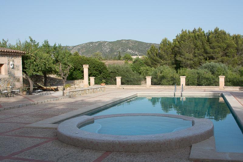 Finca Hotel Can Estades pool