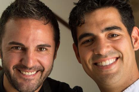 Santi Taura (left) and Andreu Genestra (right).