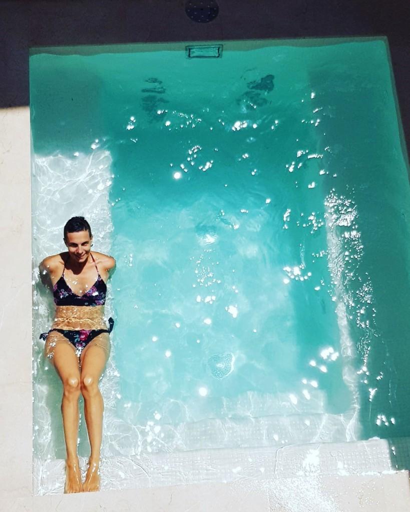 Pool at Mostatxins Quinze