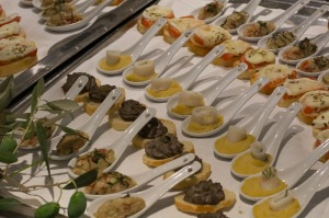 A taste of Tuscan canapes