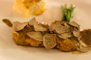 Veal with truffle