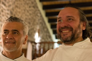 Attilio (left) and Guillermo
