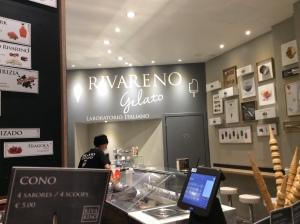 Italian ice cream parlour
