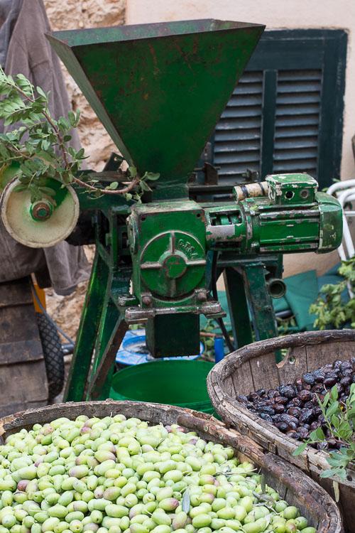 Olive pressing