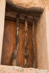 Wooden window bars