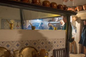 Old Mallorcan kitchen at Ribas