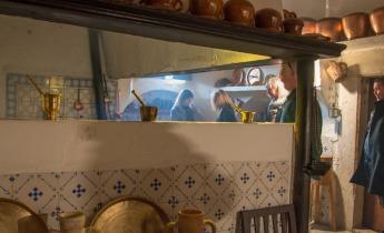 Old Mallorcan kitchen at Ribas