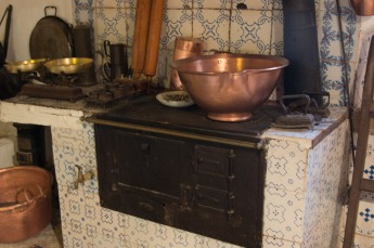 Old Mallorcan kitchen range