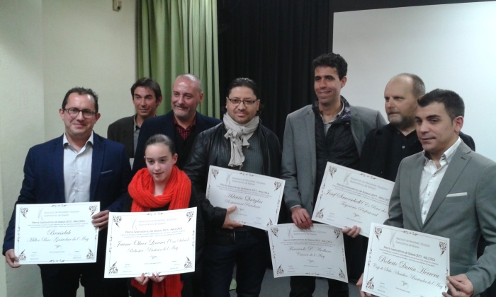 Every one a winner. Photo courtesy of the Balearic gastronomic journalists association. gastronomy
