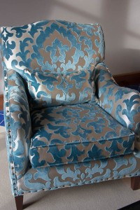 Sitting room armchair.