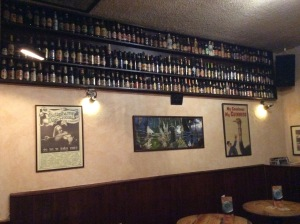 Beer as decoration!