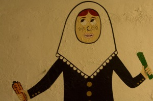 A wall painting from Ca Na Toneta - but not Maria or Teresa!