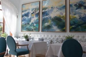 New-look Aqua restaurant.