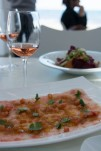Carpaccio of prawns