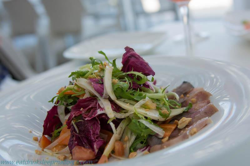 Mackerel salad in Playa de Muro
