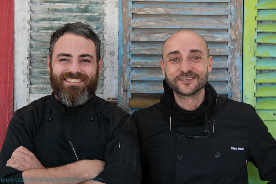 Abraham Artigas (left) and Kike Marti