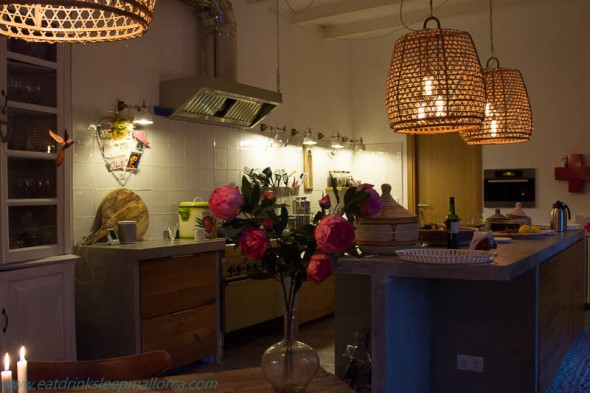 The Pink Pepper Tree kitchen