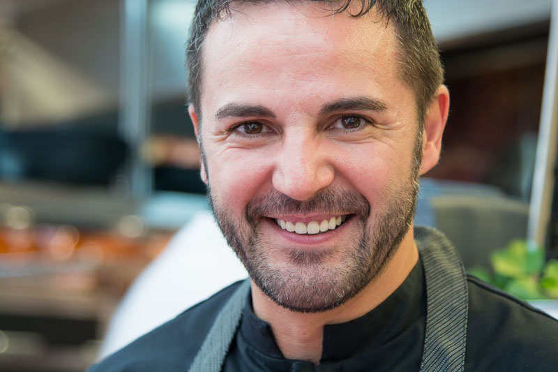 Chef Santi Taura of Lloseta