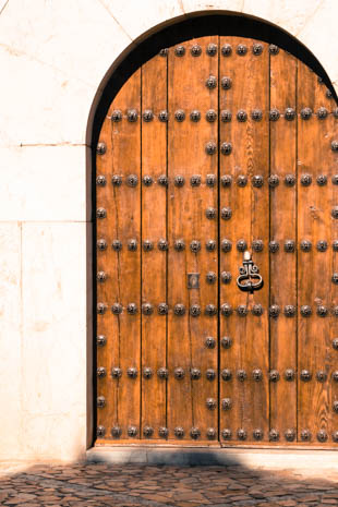 Old Mallorcan door.