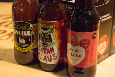Beers on sale