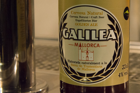 Beer made from hops grown on Mallorca