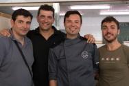 The team behind El Palau's tapas