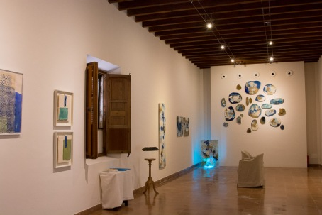 Art gallery at Belmond La Residencia.